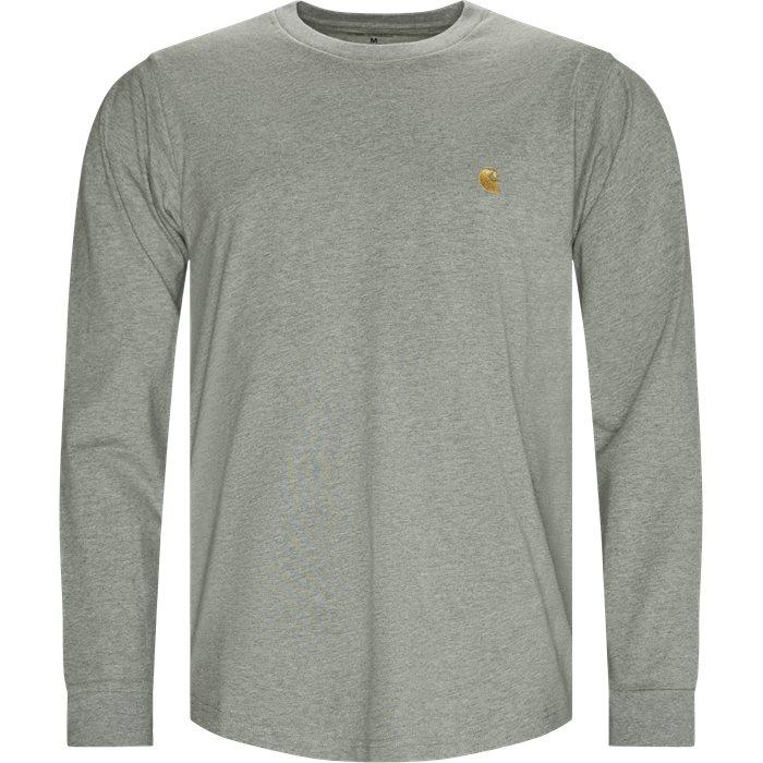 L/S Chase T-shirt - T-shirts - Regular - Grå